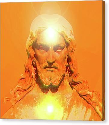 Jesus-portrait No. 06 Canvas Print