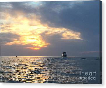 Watching Over The Inlet Canvas Print