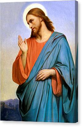 Jesus Weeping Over Jerusalem Canvas Print
