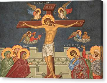 Jesus's Crucifixion Canvas Print by Unknown