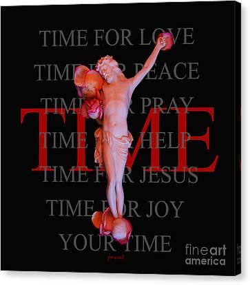 Inri Jesus Time M23 Canvas Print