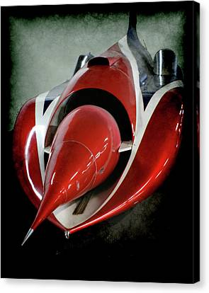 Jet Car Canvas Print by Ernie Echols