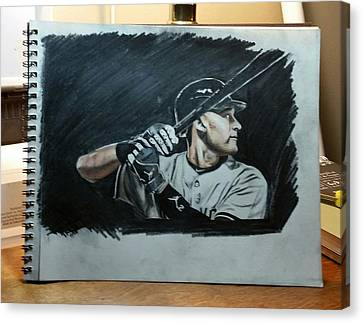 Jeter A Classic Canvas Print by Ryan Maloney