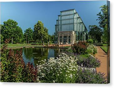 Jewel Box In Forest Park Canvas Print by Garry McMichael