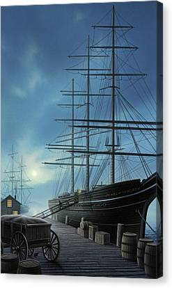 Jewel Of The North Canvas Print by Jerry LoFaro