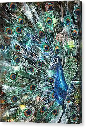 Jeweled Canvas Print by Patricia Allingham Carlson