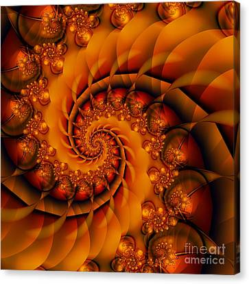Jewels Of Autumn Canvas Print by Michelle H
