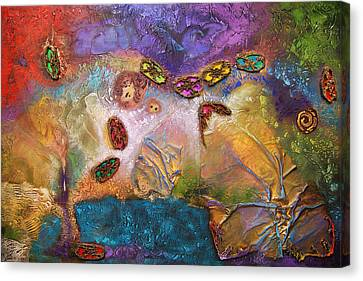 Jewels Of The Sky Canvas Print by Farhan Abouassali