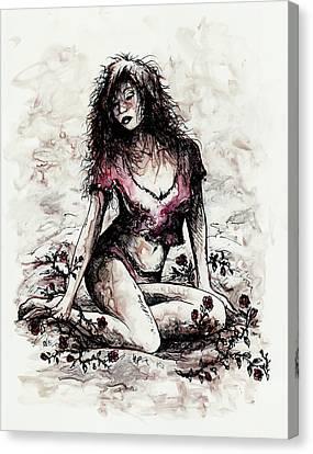 Jezebel Canvas Print by Rachel Christine Nowicki