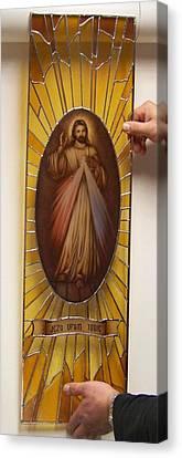 Jezu Ufam Tobie Canvas Print
