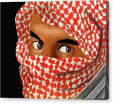Jihadi Canvas Print by Darren Stein