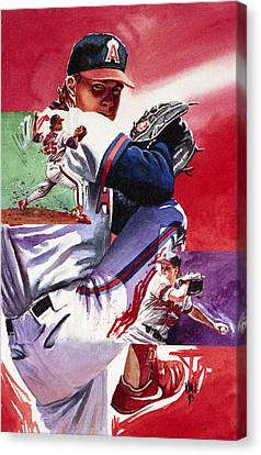 Jim Abbott Canvas Print by Ken Meyer jr