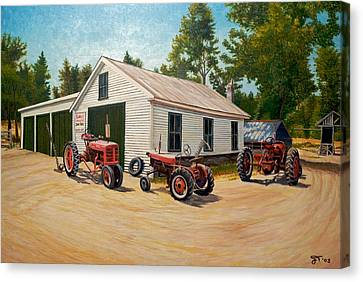Jim Build Canvas Print by Jeff Toole