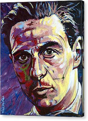 Jim Clark Canvas Print by Christian CAZALET