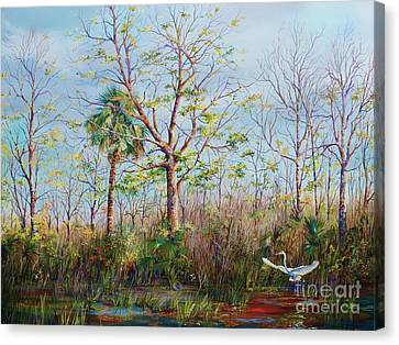Jim Creek Lift Off Canvas Print