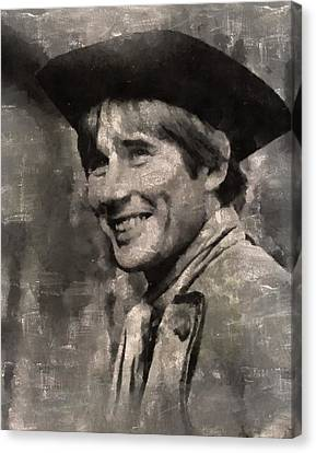 Jim Dale, Carry On Actor Canvas Print