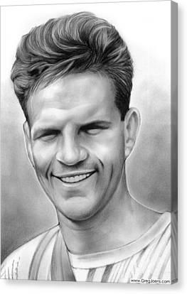 Martyr Canvas Print - Jim Elliot by Greg Joens