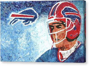 Jim Kelly Canvas Print by William Bowers
