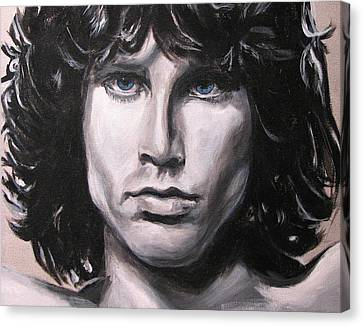 Jim Morrison - The Doors Canvas Print by Eric Dee