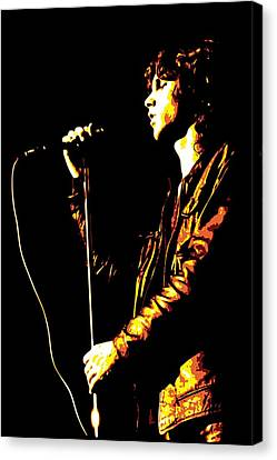 Jim Morrison Canvas Print by DB Artist