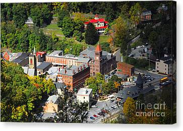 Jim Thorpe Pa Canvas Print by Cindy Manero