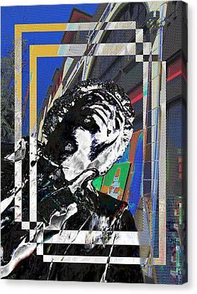 Jimi Hendrix 3 Canvas Print by Tim Allen