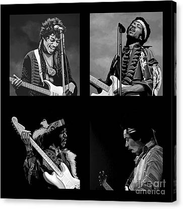 Experience Canvas Print - Jimi Hendrix Collection by Meijering Manupix