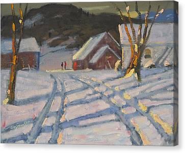 Jimmy Alibozek's Palce Canvas Print by Len Stomski