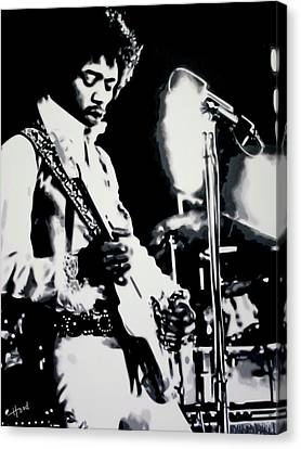 Jimmy Hendrix Purple Haze Canvas Print