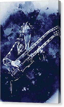 Jimmy Page - 08  Canvas Print