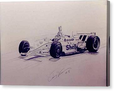 Jimmy Vasser Canvas Print