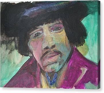Jimmy Canvas Print