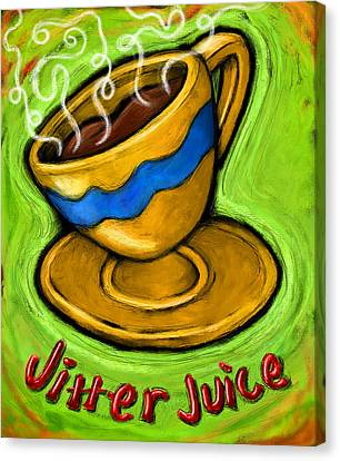 Jitter Juice Canvas Print by David Kyte