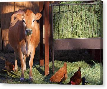 Joan And Company Canvas Print by Donna Kennedy