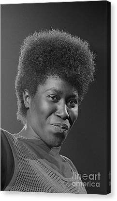 Joan Armatrading 4 Canvas Print by Philippe Taka
