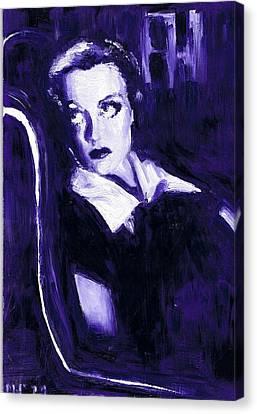 Joan Crawford Canvas Print by Mel Thompson