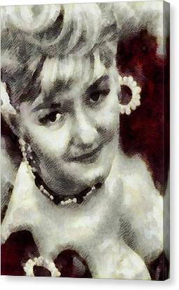 Joan Sims, Carry On Actress Canvas Print