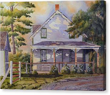 Joanne's House Canvas Print by David Gilmore