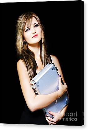 Job Recruitment And Staff Hire Canvas Print by Jorgo Photography - Wall Art Gallery