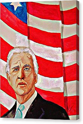Joe Biden 2010 Canvas Print by Ken Higgins