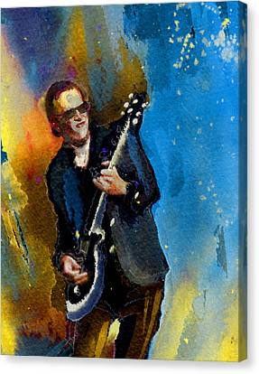 Joe Bonamassa 03 Bis Canvas Print by Miki De Goodaboom
