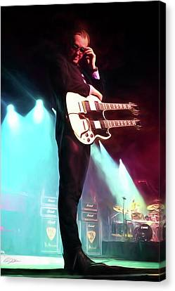 Joe Bonamassa 1 Canvas Print by Peter Chilelli