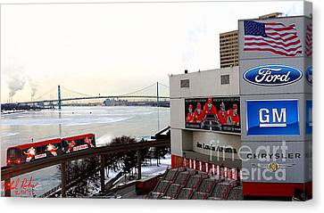 Joe Louis Arena Canvas Print