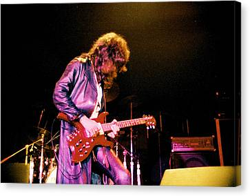 Joe Perry Project -2 Circa 1981-82 Canvas Print by Steve Pimpis