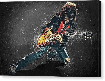Joe Perry Canvas Print