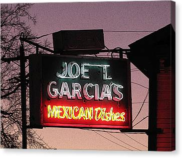 Joe T Garcia's Canvas Print