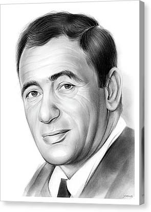 Joey Bishop Canvas Print