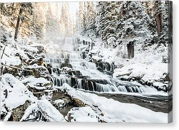 Joffre Creek Waterfall Canvas Print