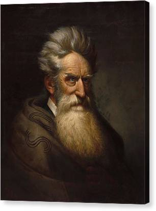 Abolitionist Canvas Print - John Brown - Ole Peter Hansen Balling by War Is Hell Store