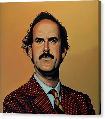 Scales Canvas Print - John Cleese by Paul Meijering